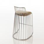 BRIDE'S VEIL bar chair bar stool