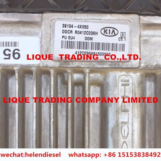 Buy Genuine and New DELPHI ECU 39104-4X950 , 391044X950, KIA 100% original Electronic Control Unit for BONGO TRUCK EURO IV at wholesale prices