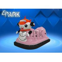 China Green / Pink Kids Coin Operated Game Machine Mini Bumper Car for Shop on sale