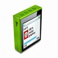 Buy cheap MP4 Player with Patented 360° Rotatable Clip, Micro SD Card Slot and Built-in from wholesalers
