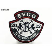 China Event Embroidered Badges Patch Overlock For Uniform / Shoes / Caps on sale