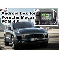 Buy Porsche Macan Cayenne PCM4.0 gps navigation devices with rear view WiFi BT video android app at wholesale prices