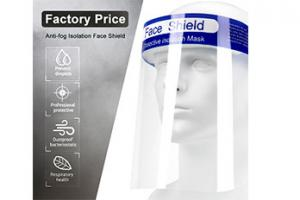 Quality Clear Pet Protective 0.25mm Anti Fog Face Shield for sale
