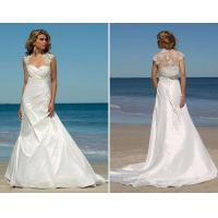 China best seller taffeta with lace jacket wedding gowns bridal dress on sale