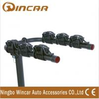 China Automobile Trailer Ball Bicycle Rack Rear Mounted 3 Bike Bicycle Carrier on sale