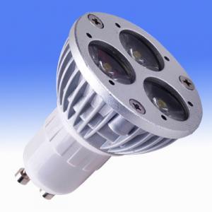 China High bright GU10 / GU5.3 4W 12VAC / DC PMMA Aluminum LED Spot Lamps For Museum on sale