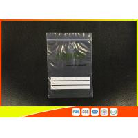 Quality Custom Industrial ZipLock Resealable Poly Bags for sale