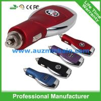 Quality hot seller car charger with car logo single usb car charger for sale