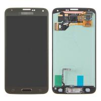 Quality For Samsung Galaxy S5 SM-G900/G900A/G900V/G900P/G900R4 LCD and Digitizer Assembly with Home Button - Gold - Grade A+ for sale