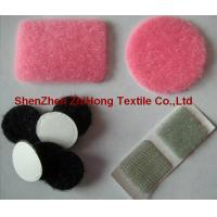 Quality Die-cutting self - adhesive Velcro hook loop dots/ circles for sale