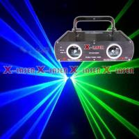 China Blue Laser Projector HD400BG double head blue+green laser stage lighting on sale