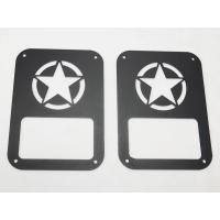 Quality Star taillight cover for jeep wrangler taillamp cover auto parts car accessories for sale