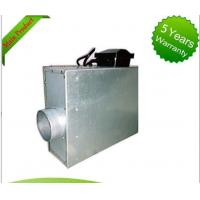 China Square Restaurant Silent Inline Fan , Inline Bathroom Exhaust Fan Forward Curved on sale