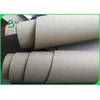 Quality Natural Fabric High Strength Washable Kraft Paper Rolls For Shopping Bags for sale