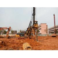 Quality 1M Max Drilling Dia Pile Driving Equipment With CAT 318D Excavator Chassis for sale
