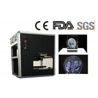 Quality Rapid Scanner 3D Glass Crystal Laser Engraving Machine 300x200x100mm Size for sale