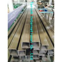 China Rectangular Welded Steel Tube , ASTM A554 Welded Stainless Steel Mechanical Tubing on sale