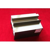 Quality Anodized Extruded Aluminum Profile In Bronze ISO14001 OEM for sale