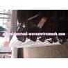 Buy cheap Black Heavy Duty Metal Screen , Plain Woven Mining Screen Mesh Wtih Hook from wholesalers