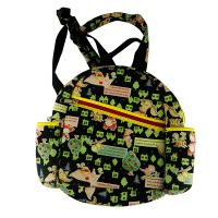 Quality Neoprene Laminated Personalized Kids Backpacks With Sublimation Jeans For Milk Bottle for sale