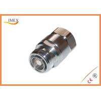 "Buy cheap Low PIM DIN-type male female 7/8"" feeder cable connector/RF DIN connector for 7/8"" feeder cable product"