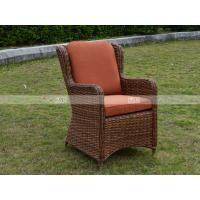 Buy CA1609 rattan deep seating with cushion poly rattan garden furniture at wholesale prices