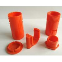 Quality Orange ABS Plastic Injection Molded Parts Multi Cavity For Vending Machine for sale