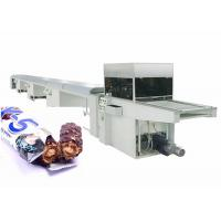 China Easy Cleaning Chocolate Bar Production Line , Chocolate Processing Equipment on sale