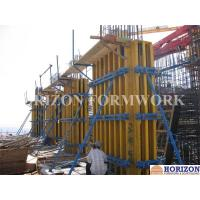 Buy Vertical Shear Wall Formwork Easily Assembled Plumbed By Push Pull Brace at wholesale prices