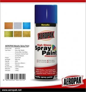 Quality Car Paint 400ml Tin Spray Paint  Metallic Color Spray Paint for sale