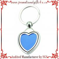 China Heart Shape Photo Frame Key Ring on sale