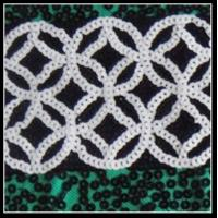Quality Customized various sizes and colors sequins embroidery for sale