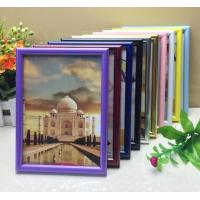 PVC plastic hand-make high quality photo frame with different color available