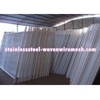 Quality White Vinyl Coated Welded Wire Mesh Fencing Metal Mesh Fence Oxidation Resistance for sale