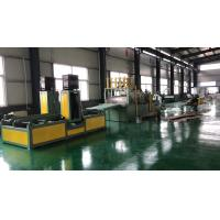 Quality 15T Transformer Corrugated Sheet Forming Machine 3 Pieces / Minute With Electrical Control System for sale