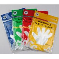 biodegradable compostable Disposable gardening pe glove heat resistant food