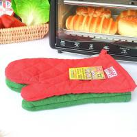 Quality Eco Friendly Customized Heat Resistant Kitchen Gloves With Logo Embroidery for sale