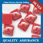 Quality red ceramic hotfix pearl,hot fix pearl square, hot fix pearl for sale