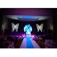 Quality HD Seamless indoor led display screen For Events , 64 x 64 Dots LED Stage Panels for sale