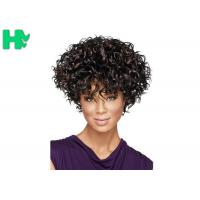 Quality Full Head Elegant Fashion Short Cosplay Synthetic Hair Free Part Wig for sale