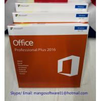 Buy cheap Pro Plus 32/64 Bit Office 2016 Retail Box Retail License Key 100% Online from wholesalers