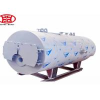 Quality Oil Gas Fuel Steam Heat Boiler , Fire Tube Steam Boiler For Industrial pringting dyeing mill for sale