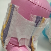 Quality Super Adsorbing Comfortable ODM Baby Diapers L Size for sale