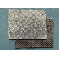 Buy cheap Non-slip Nonwoven Material Felt  Non-woven Fabrics With Black Big PVC Dots from wholesalers