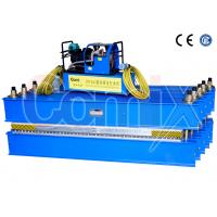 Rubber Conveyor Belt Vulcanizing Press Portable For 1200mm Belt Width Hot Splicing