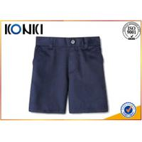 Summer Casual Uniform School Pants / Navy Blue School Uniform Pants For Boys
