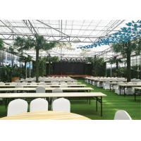 Quality PC Sheet Cover Material Modular Greenhouse Durable With Cooling System for sale