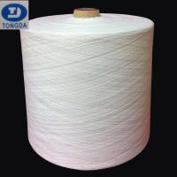 Buy cheap Polyester spun close virgin yarn 38s for india market from wholesalers
