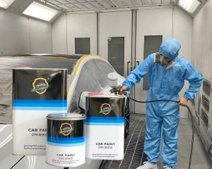 Quality Yellow Resistant High Heat Clear Coat Spray Paint , Metallic 1k Acrylic Primer for sale