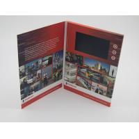 Quality Business Paper Lcd Video Mailer , Lcd Invitation Card A4 / A5 / A6 Finish Size for sale